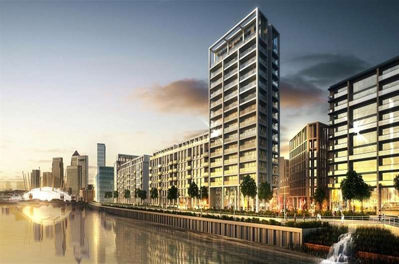 2 Bedrooms Flat for sale in Endeavour House, Royal Wharf, Docklands