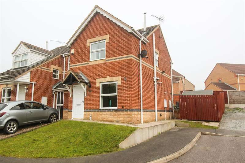 2 Bedrooms Semi Detached House for sale in Kestral Close, Bolsover