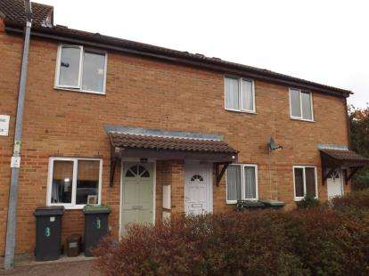 2 Bedrooms Terraced House for sale in Gladstone Close, Biggleswade, Bedfordshire