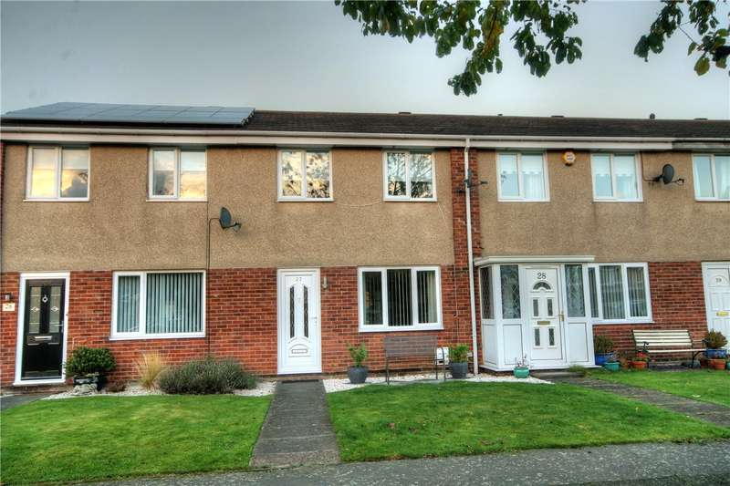 3 Bedrooms Terraced House for sale in Abbotside Close, Ouston, Chester Le Street, DH2