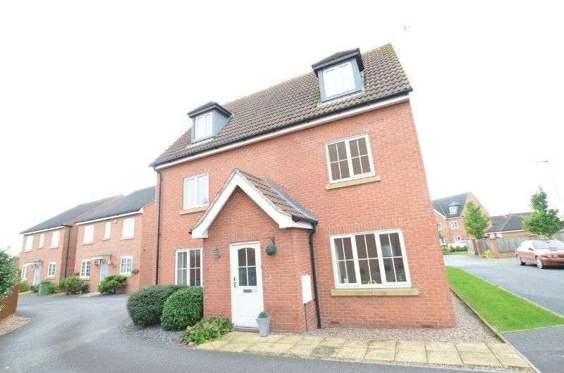 5 Bedrooms Detached House for sale in Irwin Road, Blyton, Gainsborough