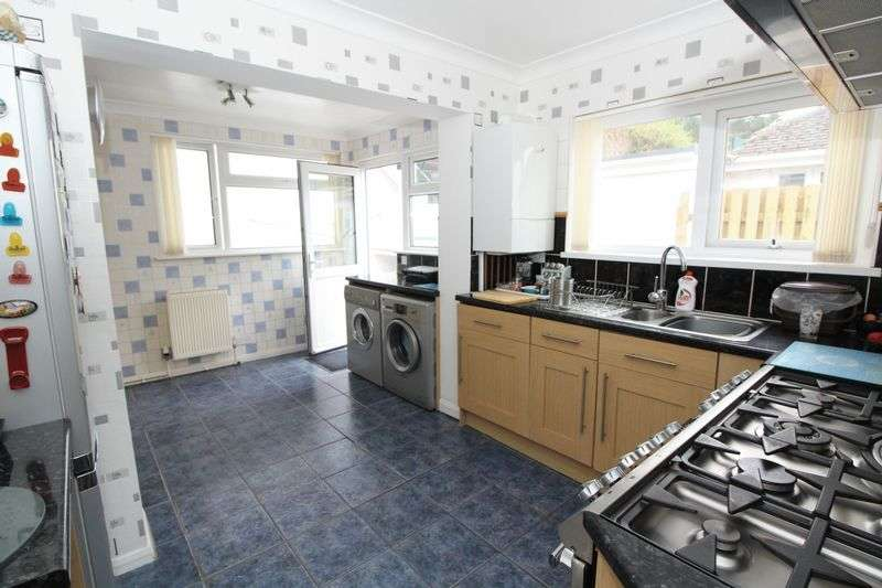 3 Bedrooms Detached Bungalow for sale in Rossall Drive, Paignton