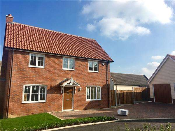 4 Bedrooms Detached House for sale in Plot H, Angel Place, Bramford, Ipswich