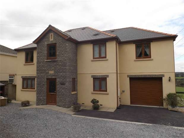 4 Bedrooms Detached House for sale in Heol Y Garn, Garnswllt, Ammanford, West Glamorgan