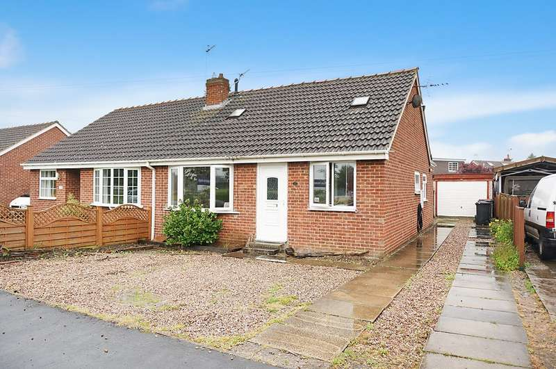 2 Bedrooms Semi Detached Bungalow for sale in Prince Rupert Drive, Tockwith, YO26