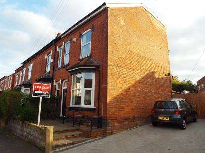 3 Bedrooms End Of Terrace House for sale in Institute Road, Birmingham, West Midlands