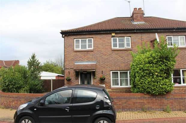 3 Bedrooms Semi Detached House for sale in East Avenue, Stainforth, Doncaster, South Yorkshire