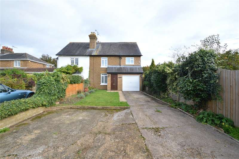 3 Bedrooms Semi Detached House for sale in Pollards Cottages, Lock Lane, Maidenhead, Berkshire, SL6