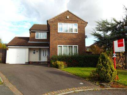 4 Bedrooms Detached House for sale in Nevis Drive, Crewe, Cheshire