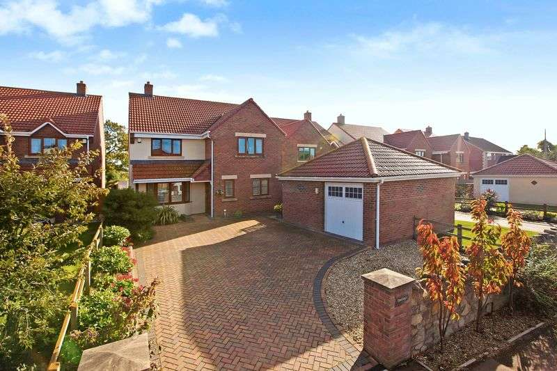 4 Bedrooms Detached House for sale in Front Street, Chedzoy, Nr. Bridgwater