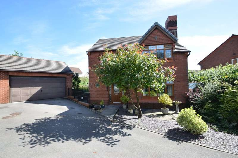 4 Bedrooms Detached House for sale in 34 Llwyn Y Groes, Broadlands, Bridgend, Bidgend County Borough, CF31 5AJ.