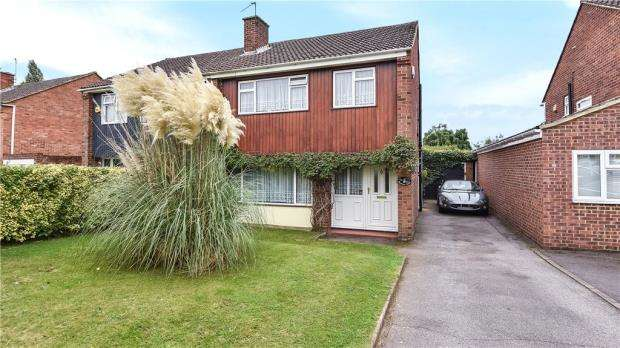 3 Bedrooms Semi Detached House for sale in Conway Road, Taplow, Maidenhead