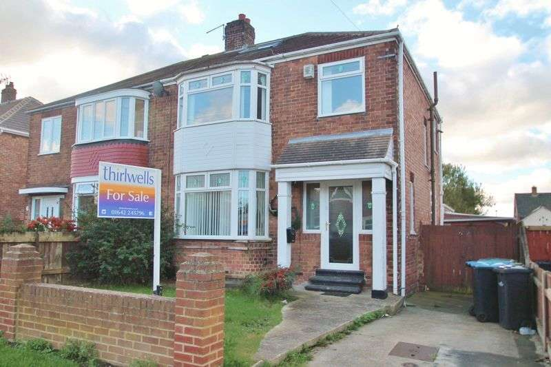 3 Bedrooms Semi Detached House for sale in Easterside Road, Middlesbrough