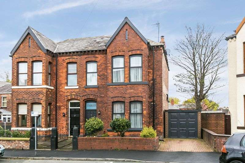 4 Bedrooms Semi Detached House for sale in Park Crescent, Wigan, WN1 1RZ
