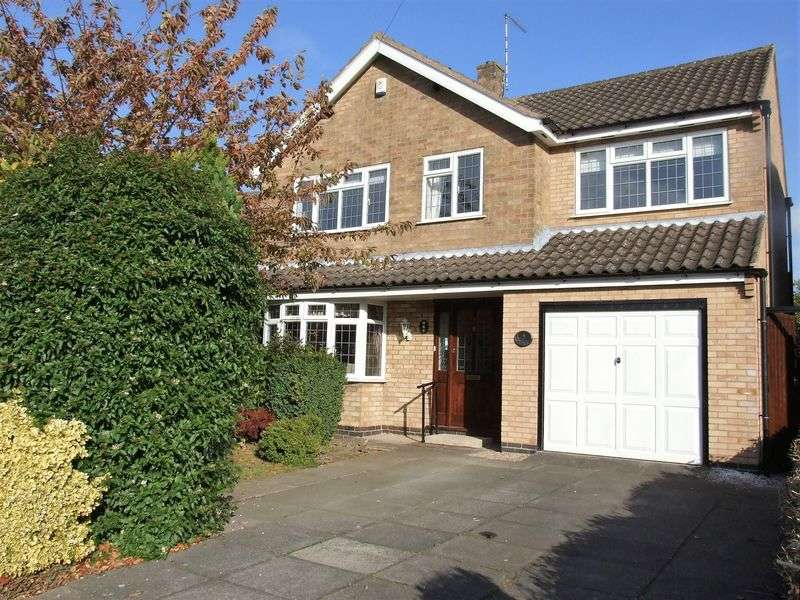 4 Bedrooms Detached House for sale in Grasmere Road, Loughborough