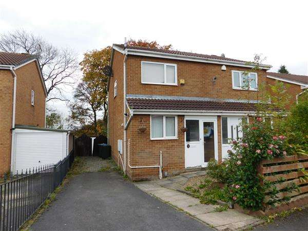 2 Bedrooms Semi Detached House for sale in Wastwater Drive, Woodside, Bradford