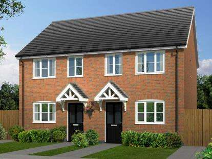 2 Bedrooms Semi Detached House for sale in Hallcroft Grange, Off Station Road, Countesthorpe, Leicestershire