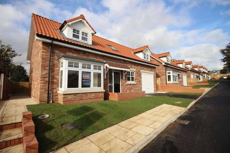 3 Bedrooms Detached Bungalow for sale in The Paddock, Racecourse Road, Scarborough, YO13 9HT