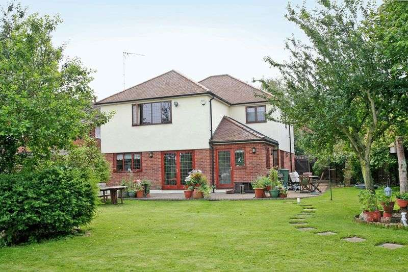 4 Bedrooms Detached House for sale in Hunsdon, Nr. Ware, Herts - Extensive Gardens & Spacious Family Accommodation.