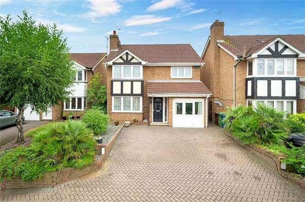 4 Bedrooms Detached House for sale in Diamond Close, Chafford Hundred, Grays, Essex