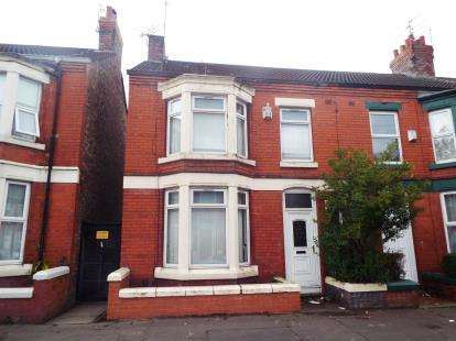 3 Bedrooms End Of Terrace House for sale in Garmoyle Road, Liverpool, Merseyside, L15