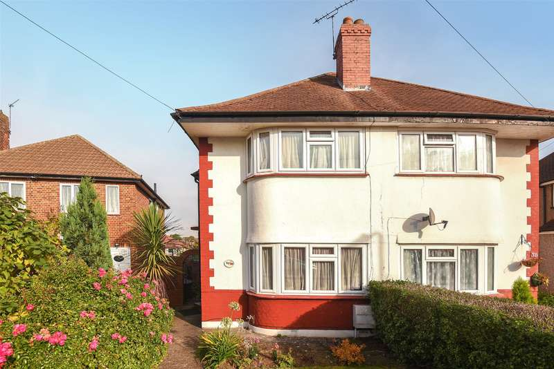 3 Bedrooms Semi Detached House for sale in Newnham Gardens, Northolt, Middlesex, UB5