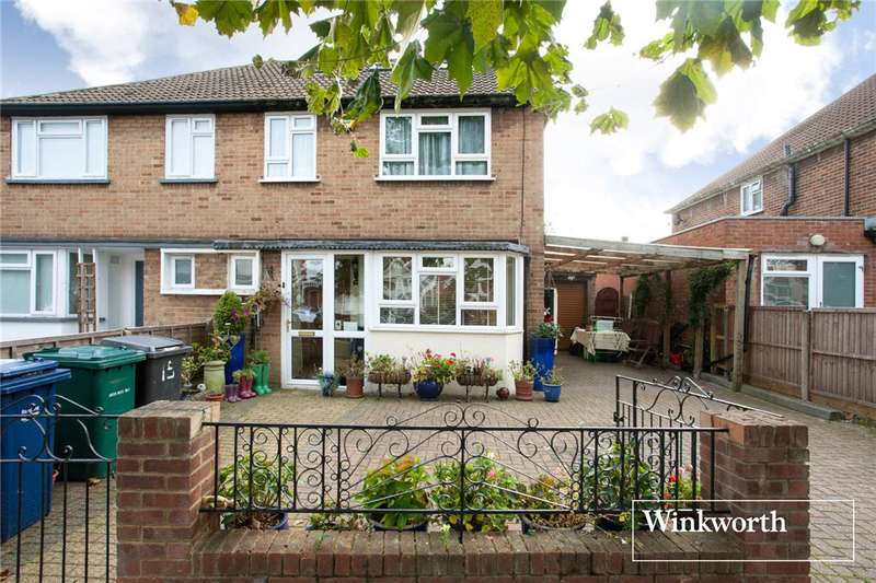 4 Bedrooms Semi Detached House for sale in Eton Avenue, North Finchley, London, N12