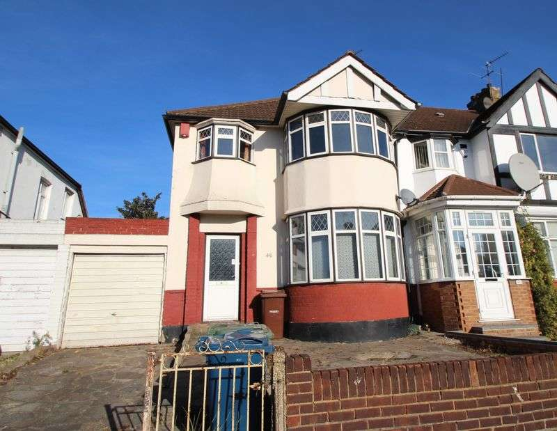 3 Bedrooms Semi Detached House for sale in Headstone Gardens, Harrow