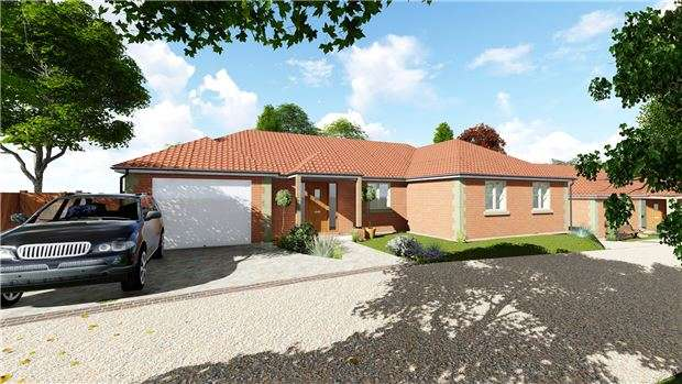 3 Bedrooms Detached Bungalow for sale in Plot 1, Bondend Road, Upton St Leonards, Gloucester, GL4 8AH
