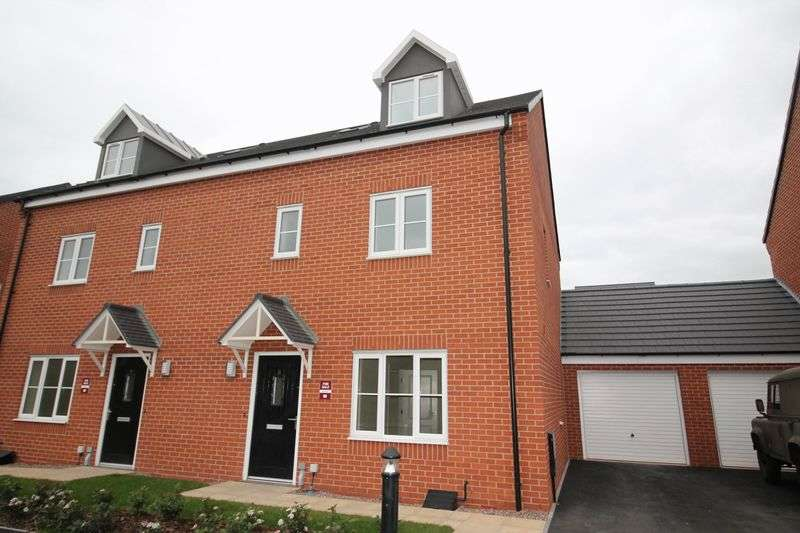 4 Bedrooms Semi Detached House for sale in Nightingale Walk, Lightmoor, Telford