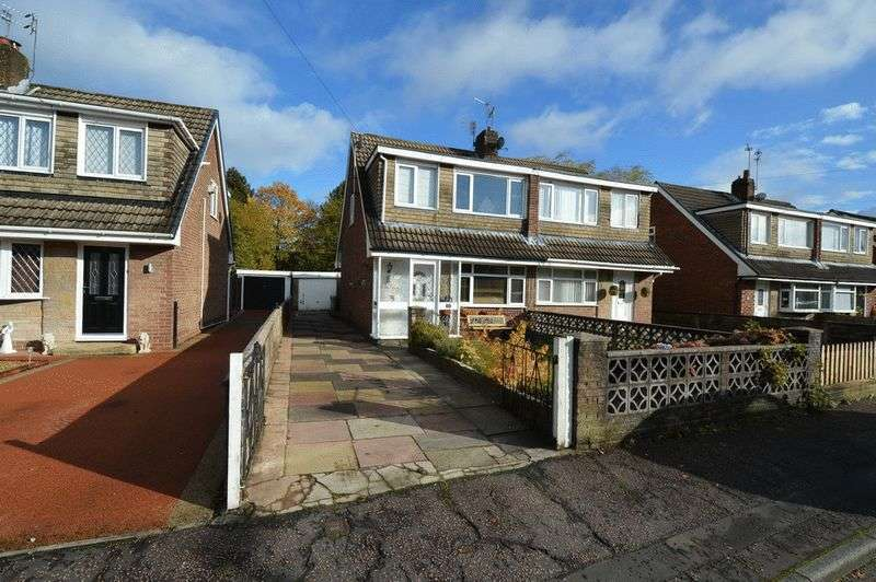 3 Bedrooms Semi Detached House for sale in Nuttall Avenue, Whitefield, Manchester