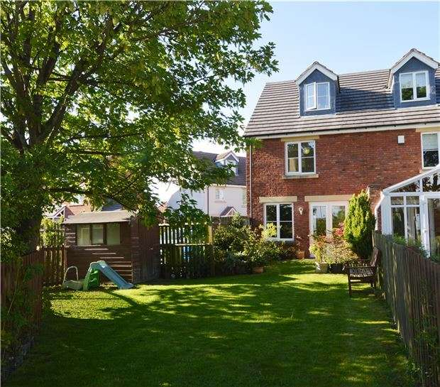 3 Bedrooms Semi Detached House for sale in Newland View, CHELTENHAM, Gloucestershire, GL51 0RE