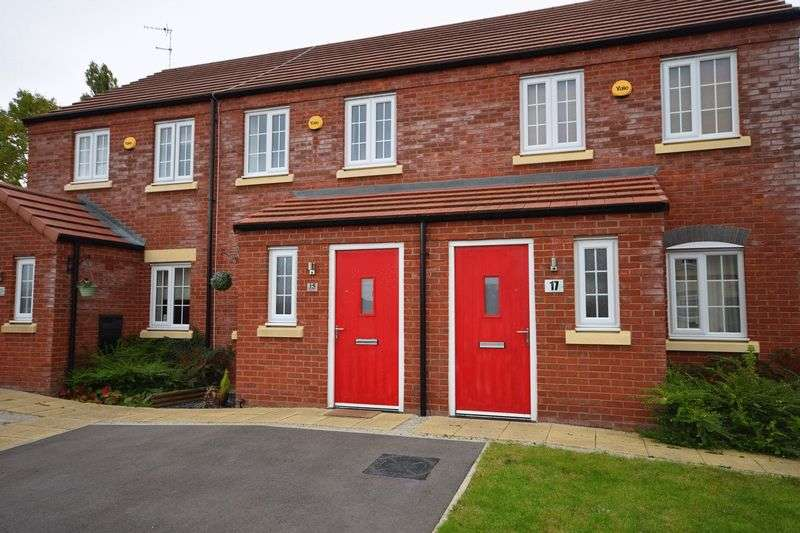 2 Bedrooms Mews House for sale in Elbourne Drive, Scholar Green