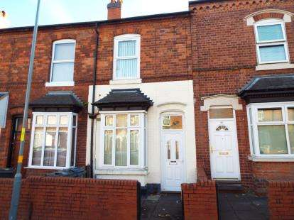 2 Bedrooms Terraced House for sale in Hutton Road, Handsworth, Birmingham, West Midlands