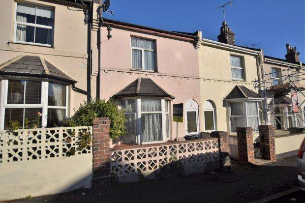 2 Bedrooms Terraced House for sale in Willicombe Road, Paignton, Devon