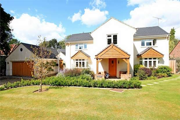 5 Bedrooms Detached House for sale in Shawford, Winchester, Hampshire