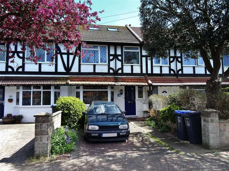 4 Bedrooms Terraced House for sale in Downlands Avenue, Broadwater, Worthing, BN14
