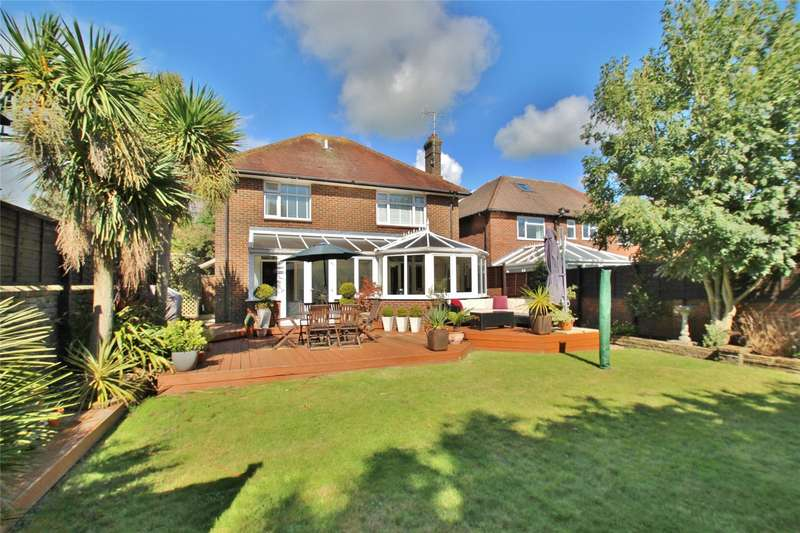 4 Bedrooms Detached House for sale in Upper Brighton Road, Broadwater, Worthing, BN14