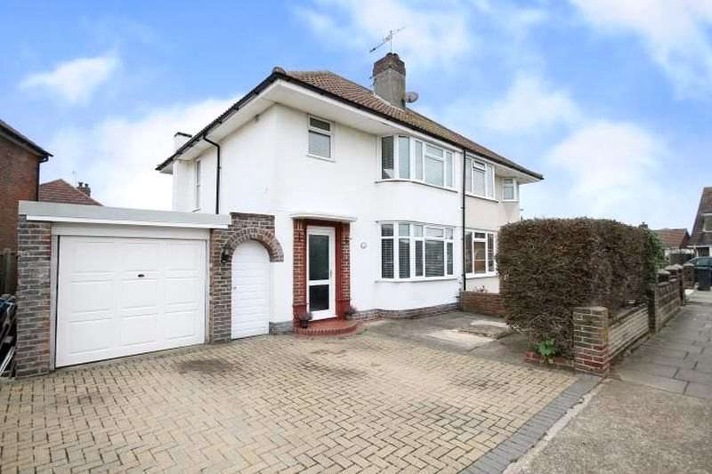 3 Bedrooms Semi Detached House for sale in Roberts Road, Lancing, West Sussex, BN15