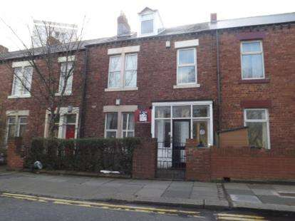 3 Bedrooms Flat for sale in Claremont Road, Spital Tongues, Newcastle Upon Tyne, NE2