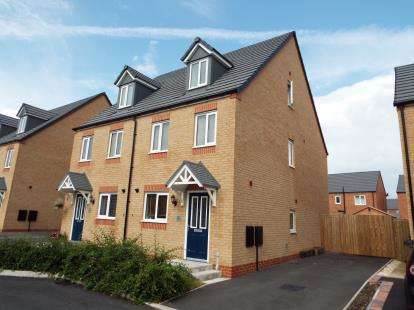 3 Bedrooms Semi Detached House for sale in Chestnut Way, Penyfford, CH4
