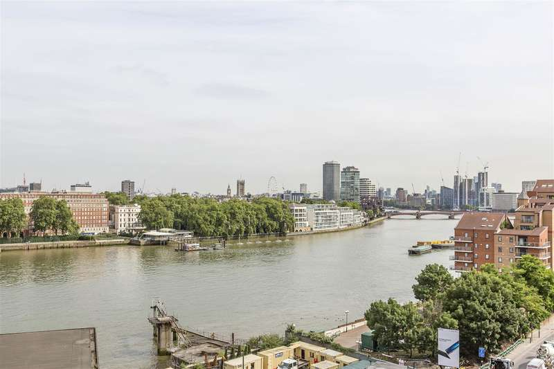3 Bedrooms Flat for sale in Capital Building, Embassy Gardens, Nine Elms, London SW8