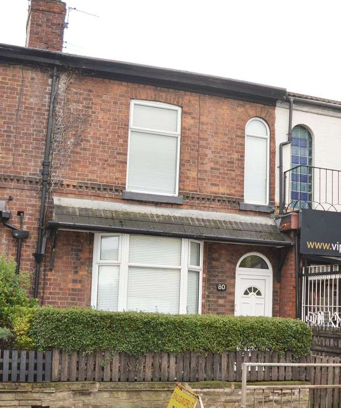 2 Bedrooms Terraced House for sale in Buxton Road, Heaviley, Stockport