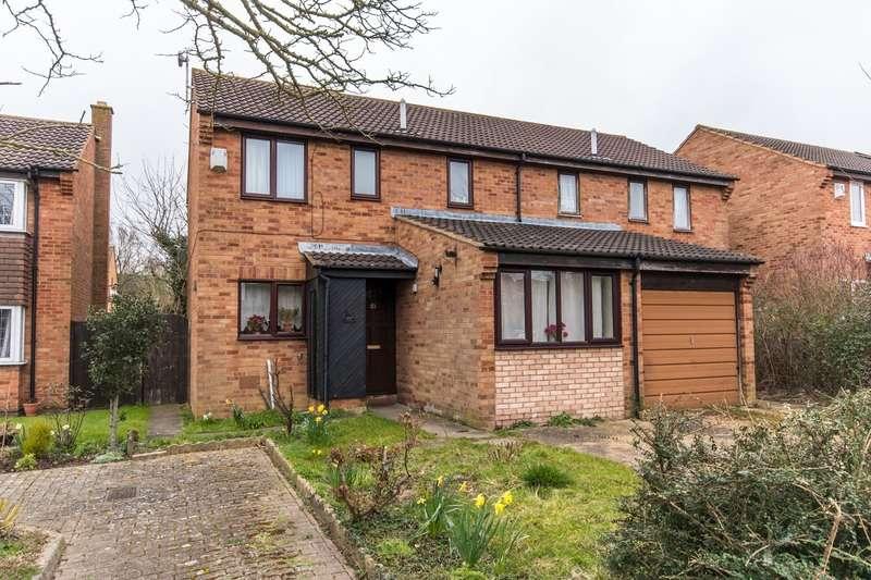 4 Bedrooms Semi Detached House for sale in EDRICH AVENUE, MILTON KEYNES, Buckinghamshire, MK6