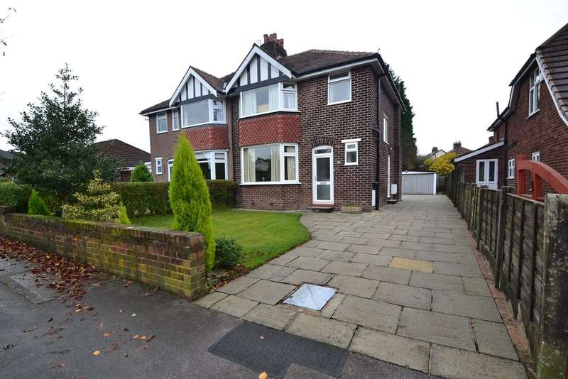 3 Bedrooms Semi Detached House for sale in Andrew Lane, High Lane, Stockport SK6 8HX