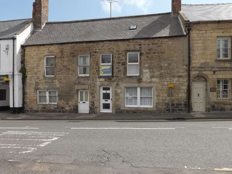 3 Bedrooms Terraced House for sale in Castle Street, Warkworth, Morpeth, Northumberland, NE65 0UL