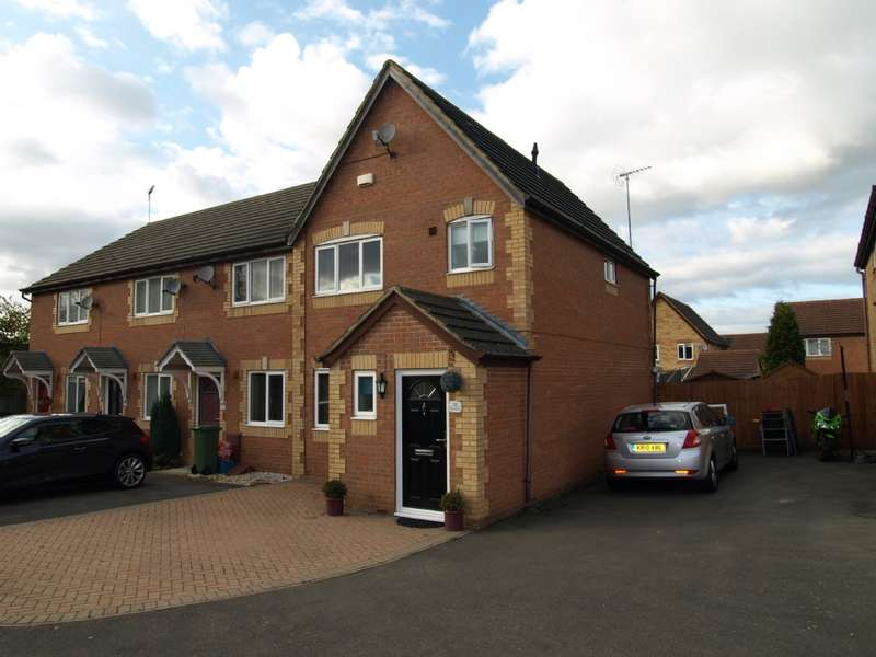 3 Bedrooms End Of Terrace House for sale in Thyme Close, Newport Pagnell, Buckinghamshire