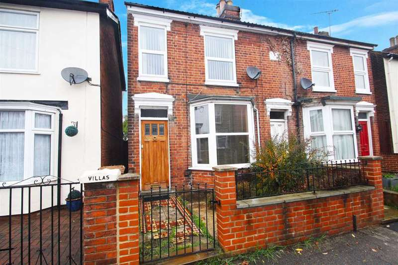 3 Bedrooms Semi Detached House for sale in Lacey Street, Ipswich