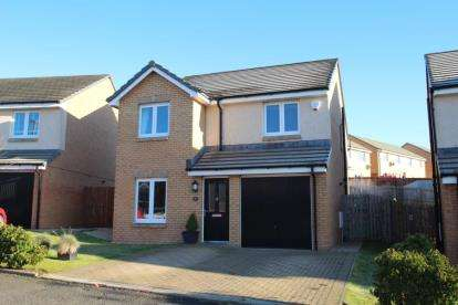 4 Bedrooms Detached House for sale in Hayfield Drive, Stewarton