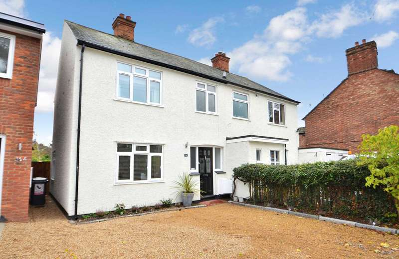 3 Bedrooms Semi Detached House for sale in Bedford Road, Aspley Guise